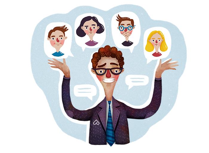 Подбор менеджеров по работе с клиентами | UP business coaching