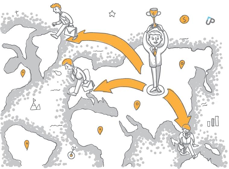 Зачастую новый отдел продаж открывается в новом регионе, так как бизнес подразумевает очное присутствие продавцов на местах