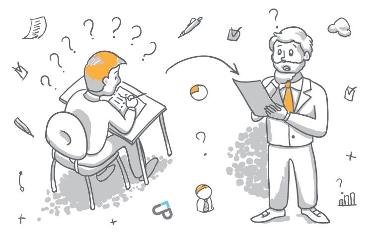 Полученные ответы по тестированию менеджеров по продажам еще нужно будет эффективно использовать