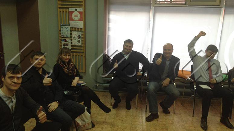 Групповое собеседование руководителей отдела продаж, г. Тюмень